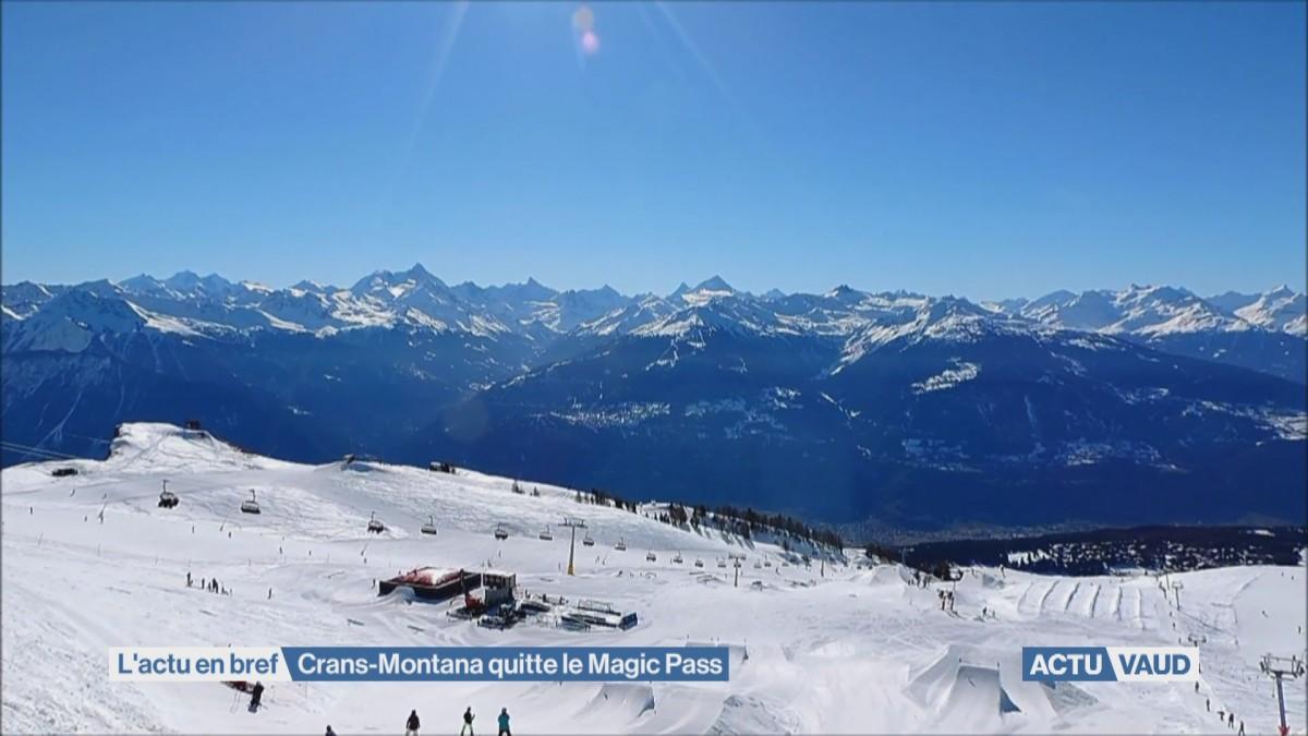 Crans-Montana quitte le Magic Pass