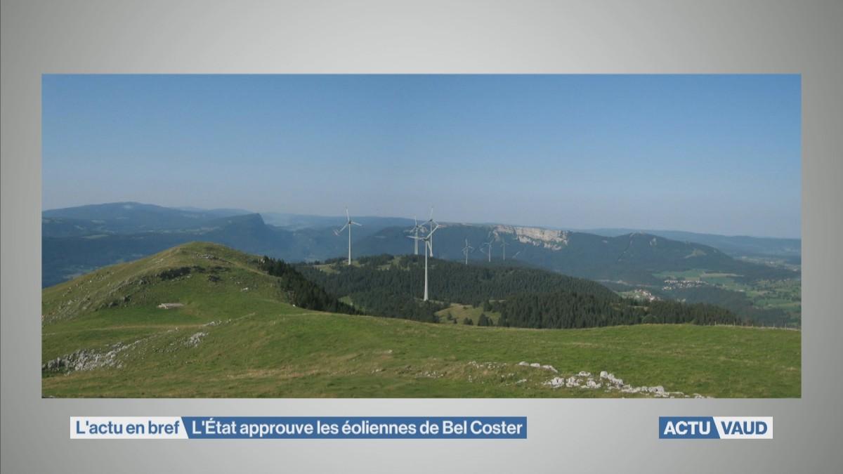 L'Etat approuve les éoliennes de Bel Coster