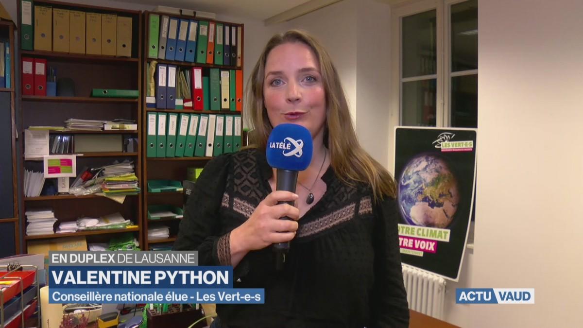 Valentine Python élue grâce à Adèle Thorens