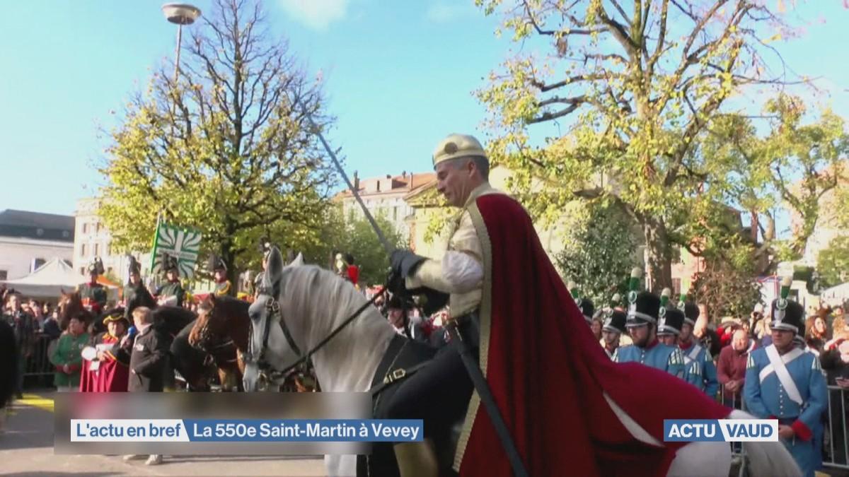 La 550e foire de la Saint-Martin à Vevey