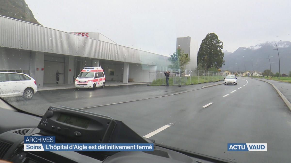 Il n'y a officiellement plus d'hôpital à Aigle