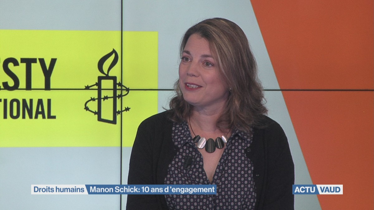 Manon Schick quitte Amnesty International Suisse