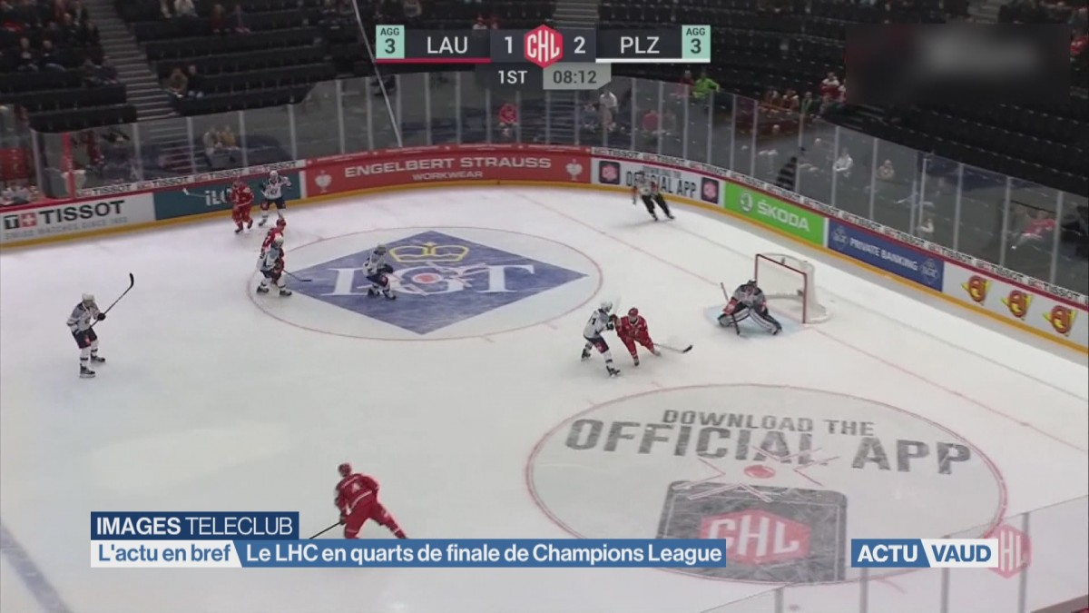 Le LHC en quarts de finale de Champions Hockey League