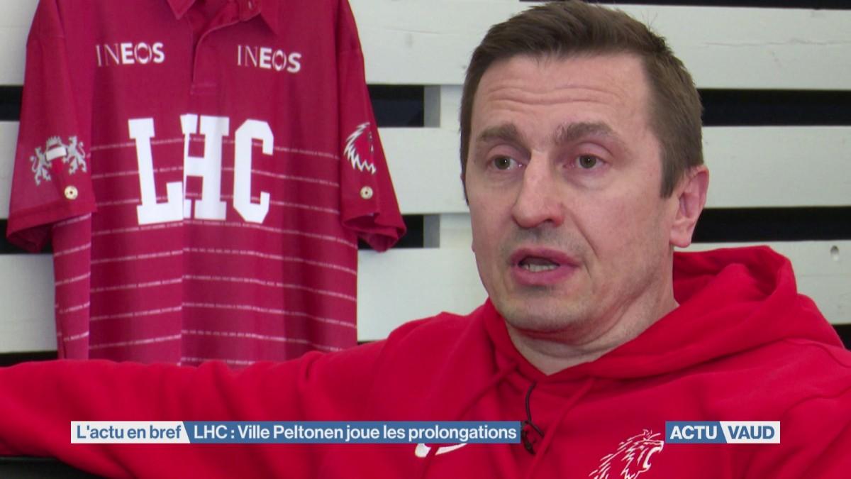 Ville Peltonen joue les prolongations avec le LHC