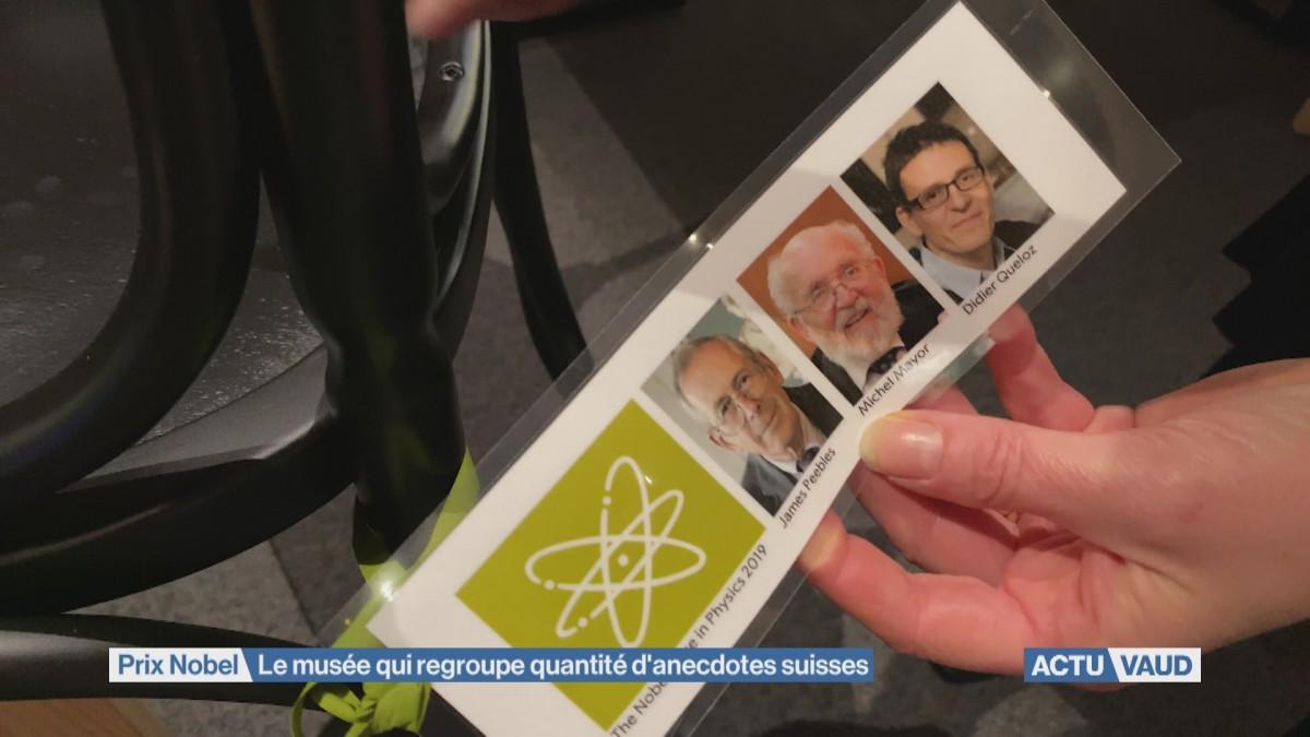 Des anecdotes de Nobel suisses