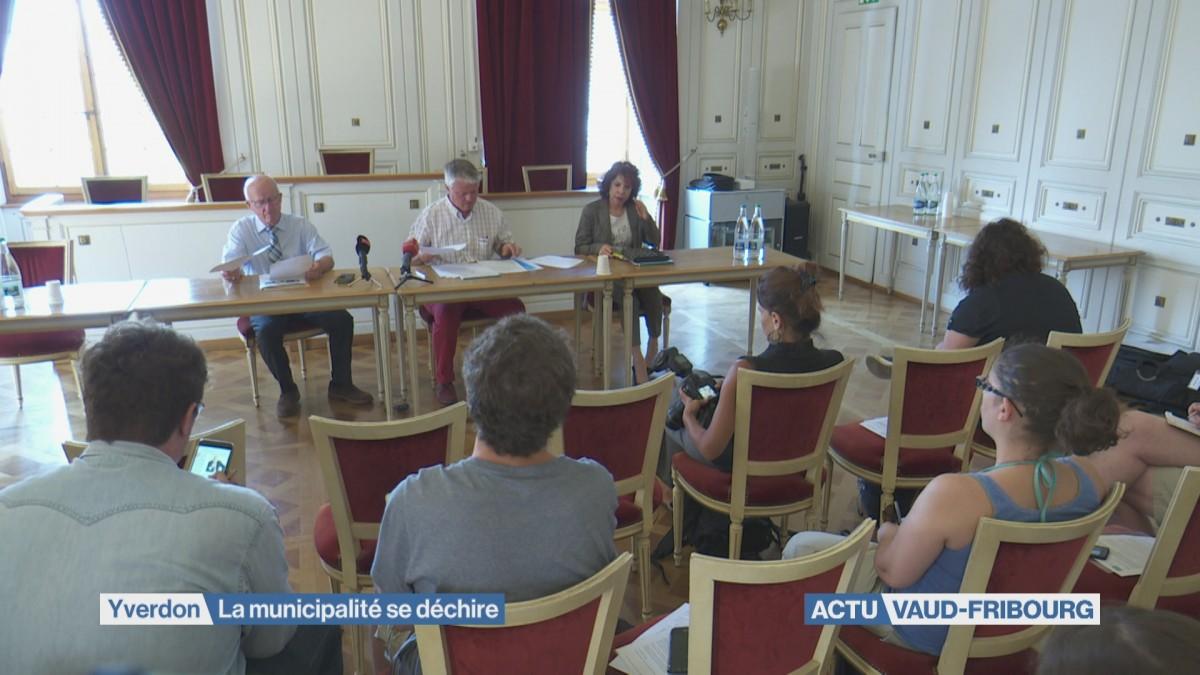 Une municipalité déchirée à Yverdon-les-Bains