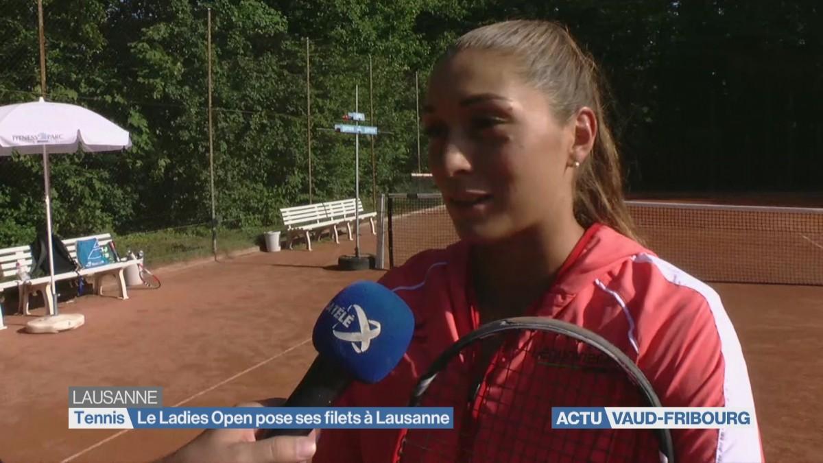 Le Ladies Open pose ses filets à Lausanne