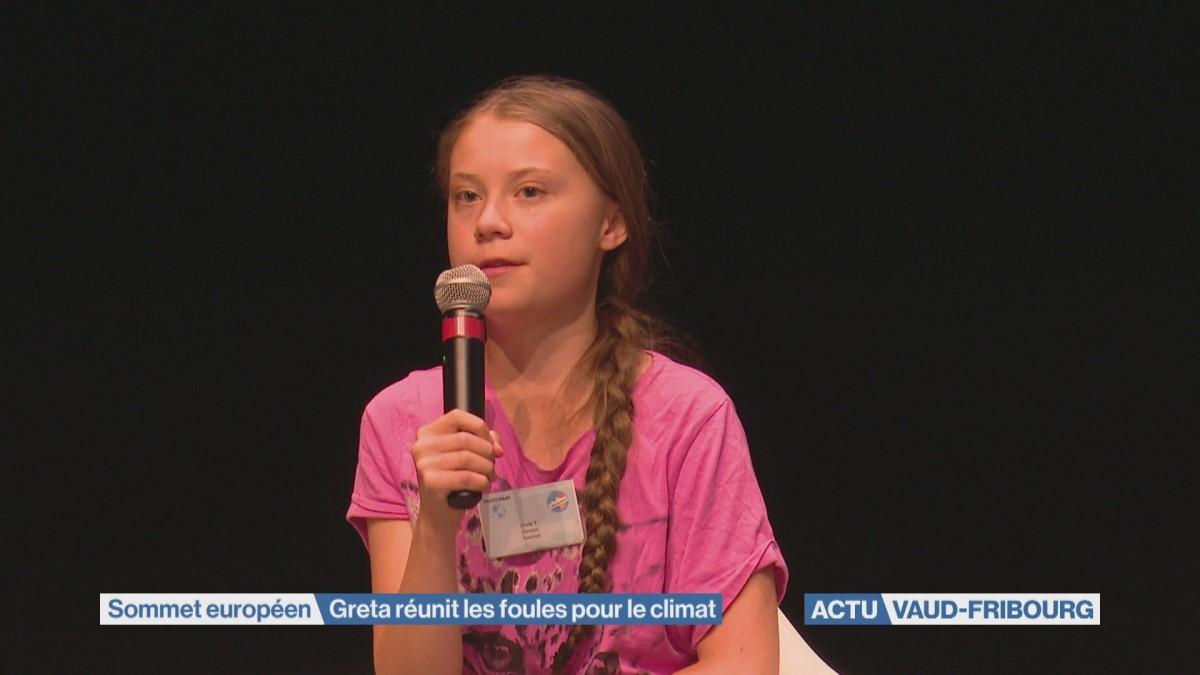 Greta réunit les foules pour le climat