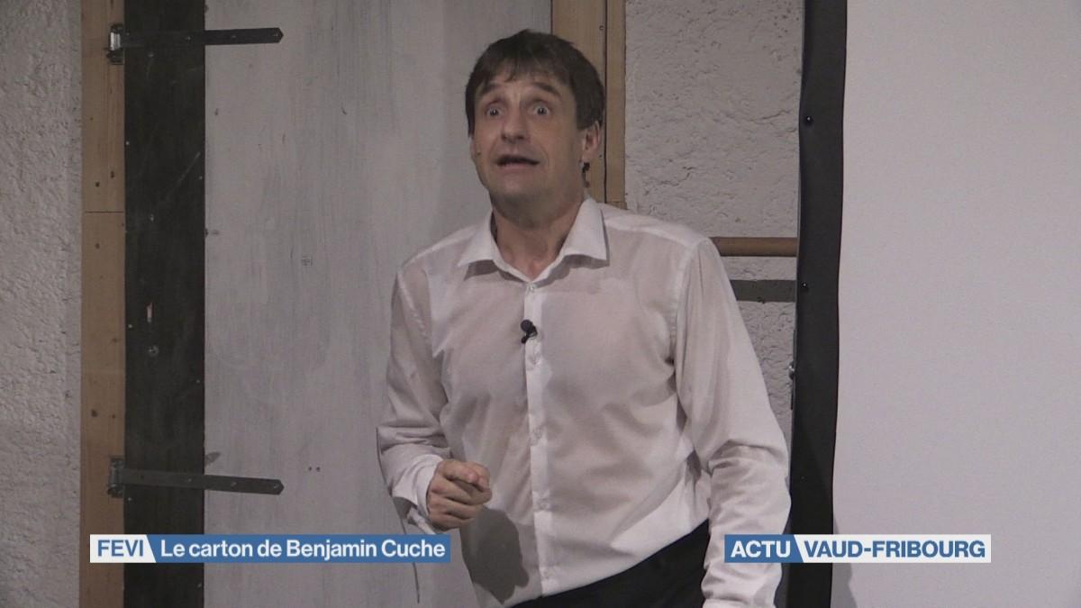 Le spectacle de Benjamin Cuche cartonne