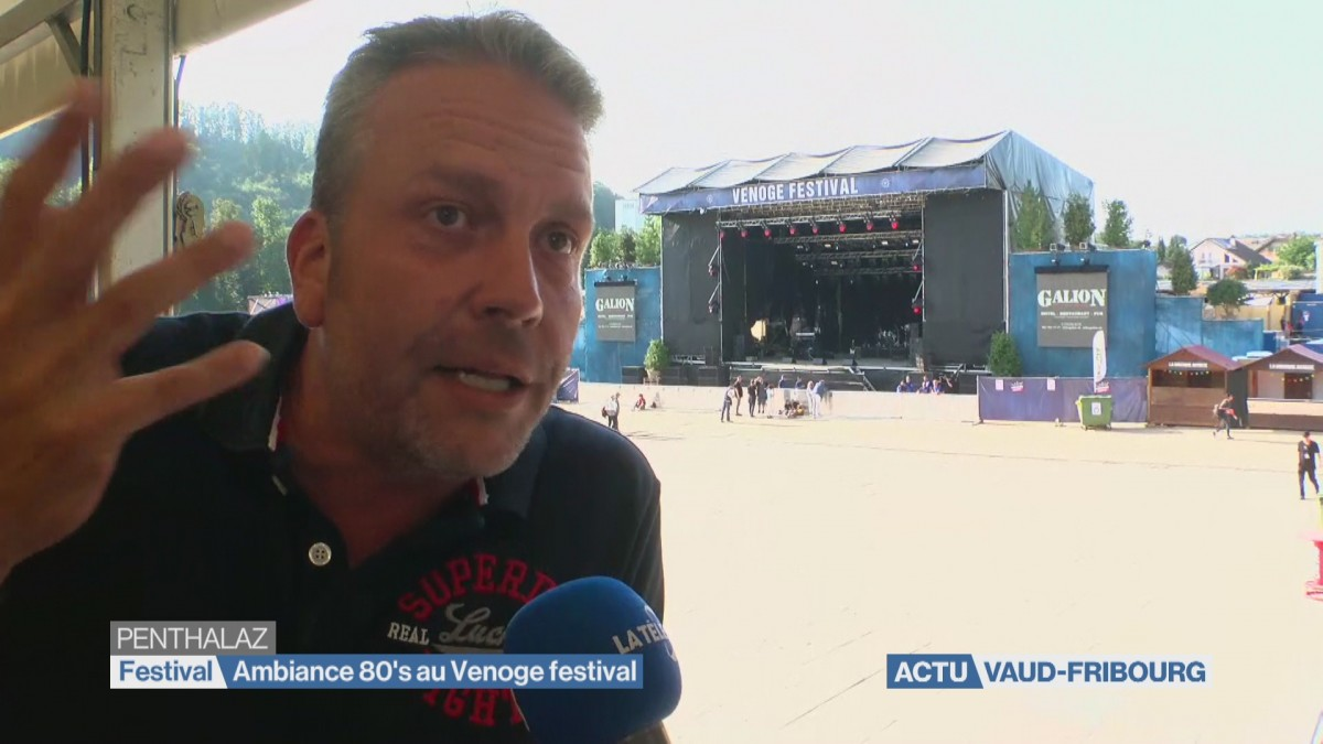 Ambiance 80's au Venoge festival