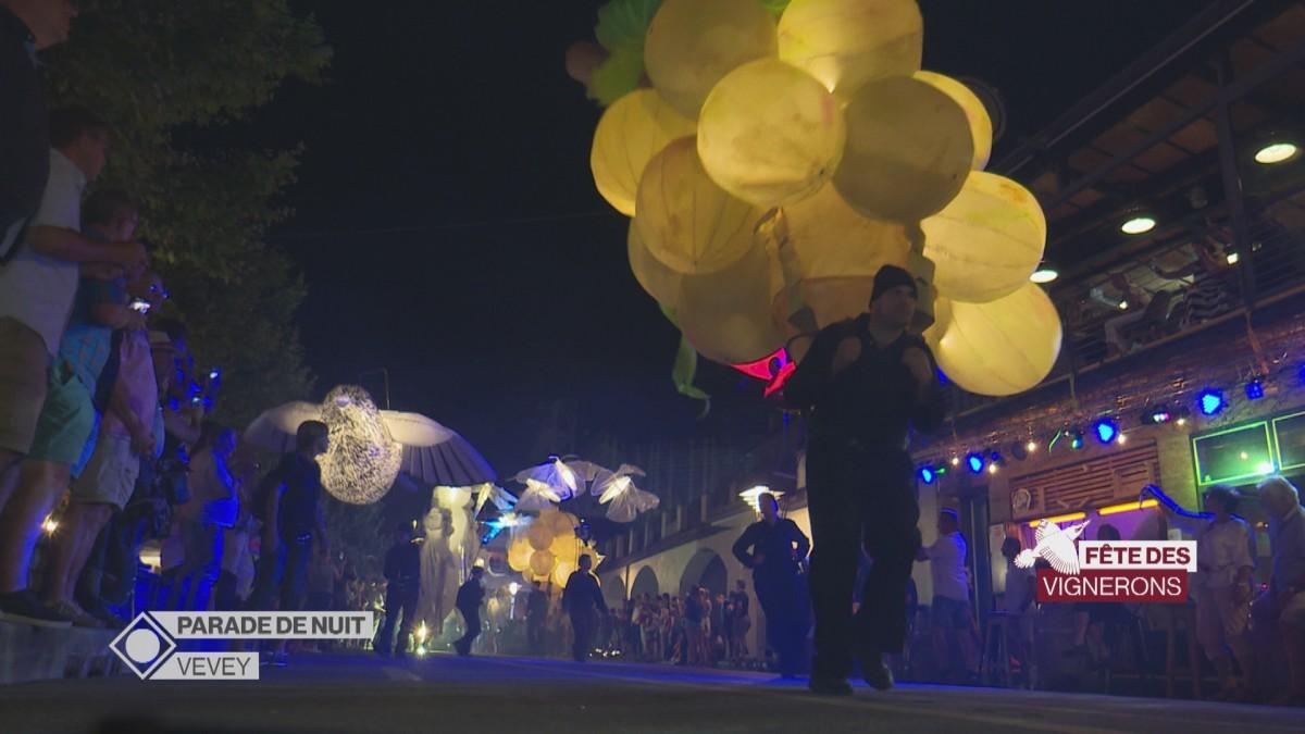 Parade de nuit de la Fête des Vignerons