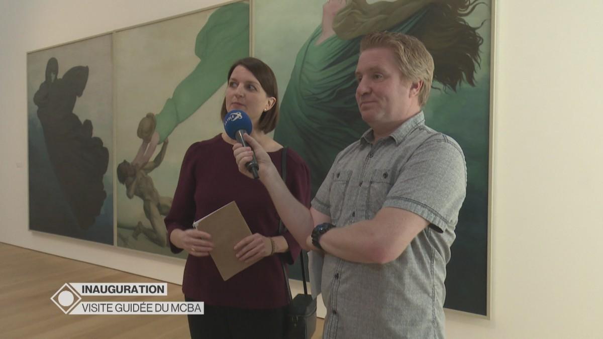 L'inauguration en direct du Musée des Beaux-Arts de Lausanne