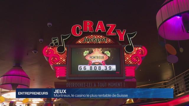 Montreux: le casino le plus rentable de Suisse