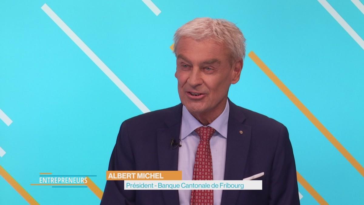 Albert Michel, banquier entrepreneur