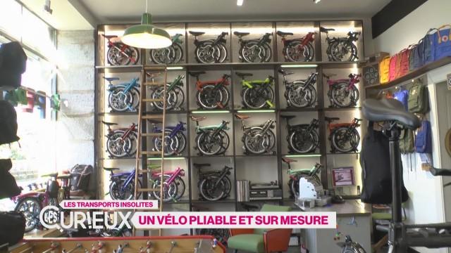 Un vélo pliable et sur mesure