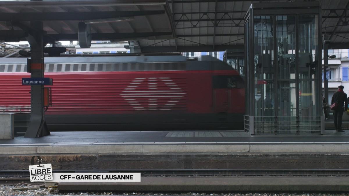 Libre accès à la gare de Lausanne
