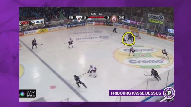 Fribourg Gottéron au-dessus de la barre