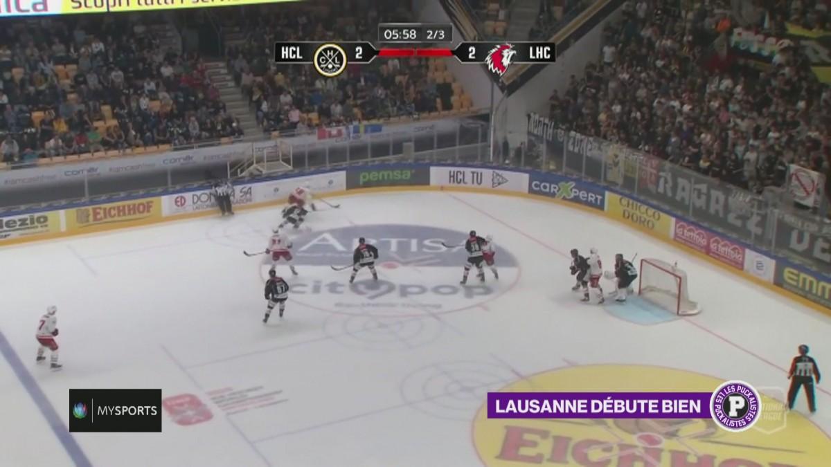Débuts réussis pour Lausanne