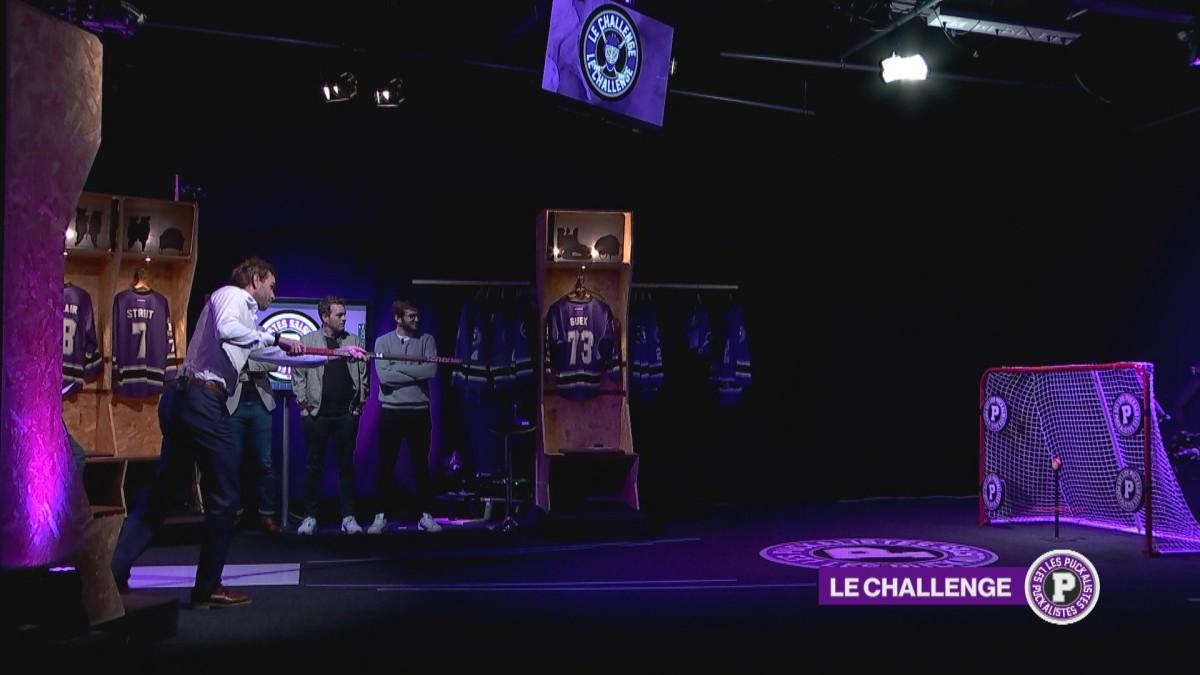 Le challenge des Puckalistes avec Benjamin Chavaillaz