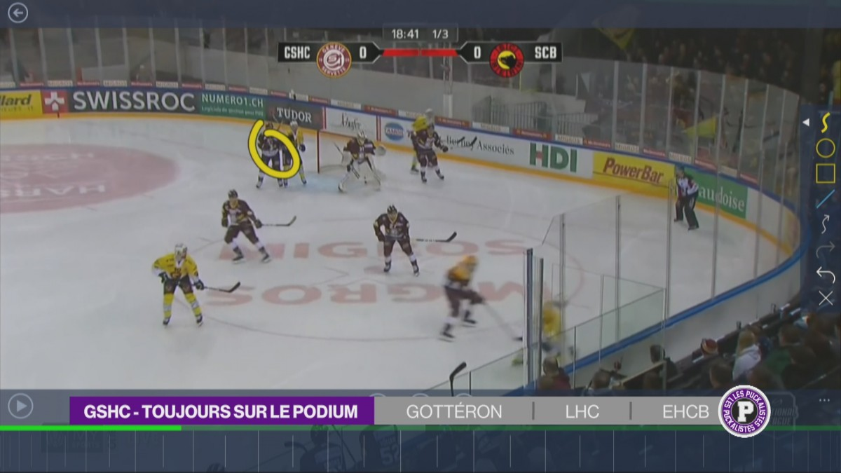 Andersson décisif face au GSHC