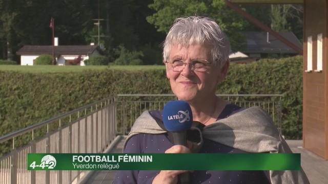 Yverdon Féminin relégué en 2e division