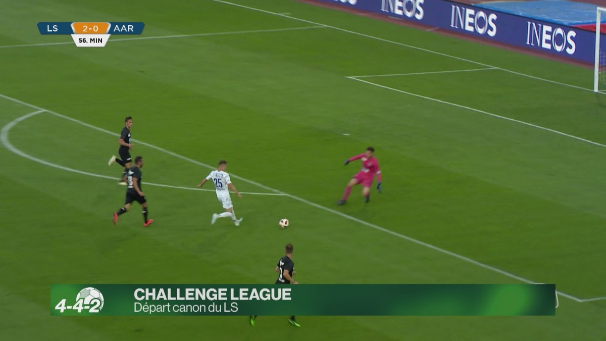 Challenge League : Départ canon du LS