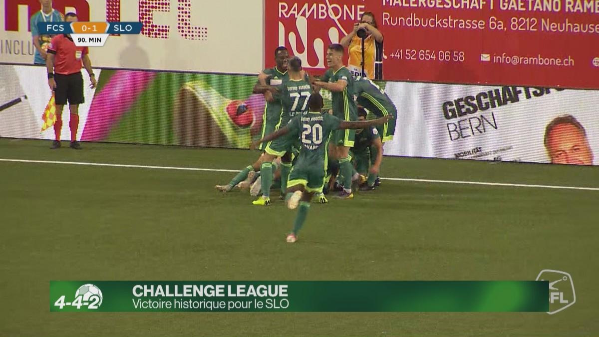 Challenge League : Victoire historique du SLO