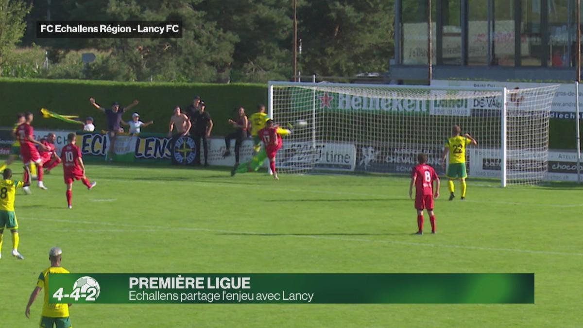 Résumé du match Echallens-Lancy