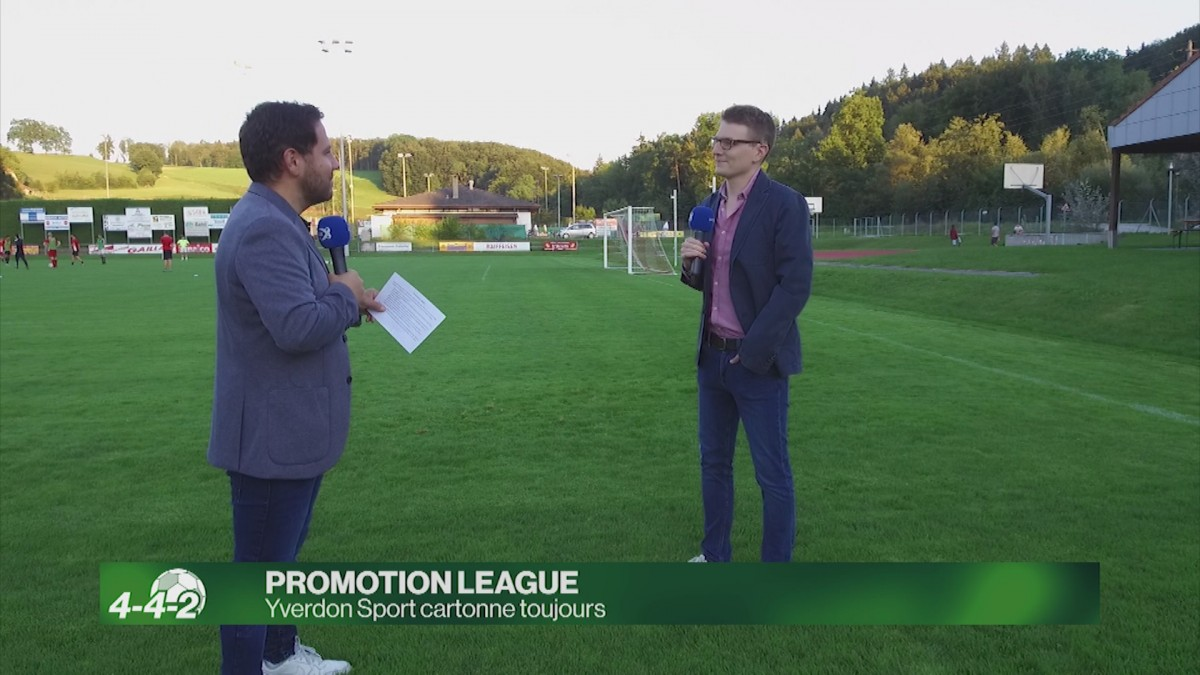 Analyse de la situation en Promotion League.