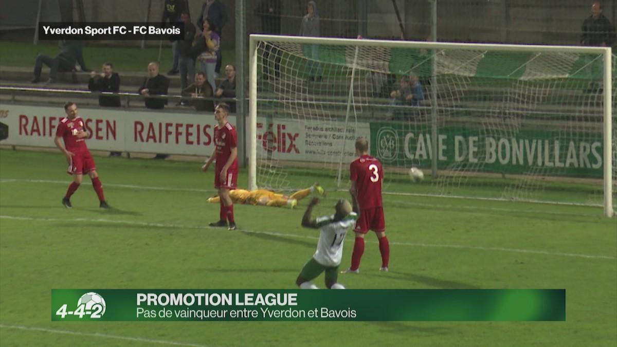 Yverdon Sport coince face à Bavois