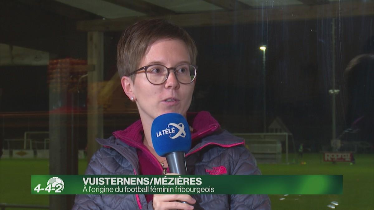 Vuisternens/Mézières : à l'origine du football féminin