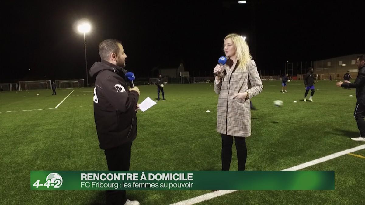 FC Fribourg : les femmes au pouvoir.