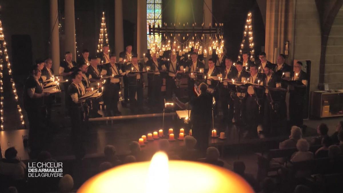 Le Chœur des Armaillis de la Gruyère chante Noël