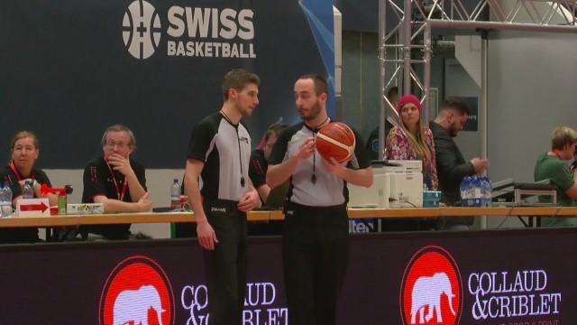 SBL Cup, finale femmes Elfic-Genève, la mi-temps