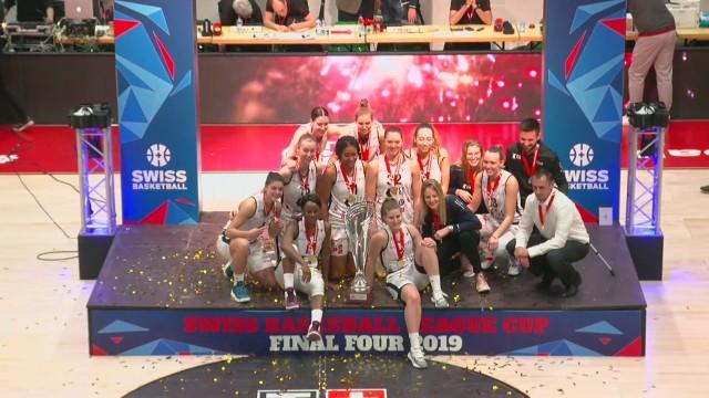 SBL Cup, finale femmes Elfic-Genève, la fin du match