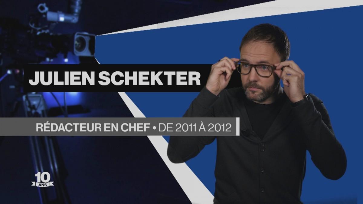 La Télé fête ses 10 ans avec Julien Schekter
