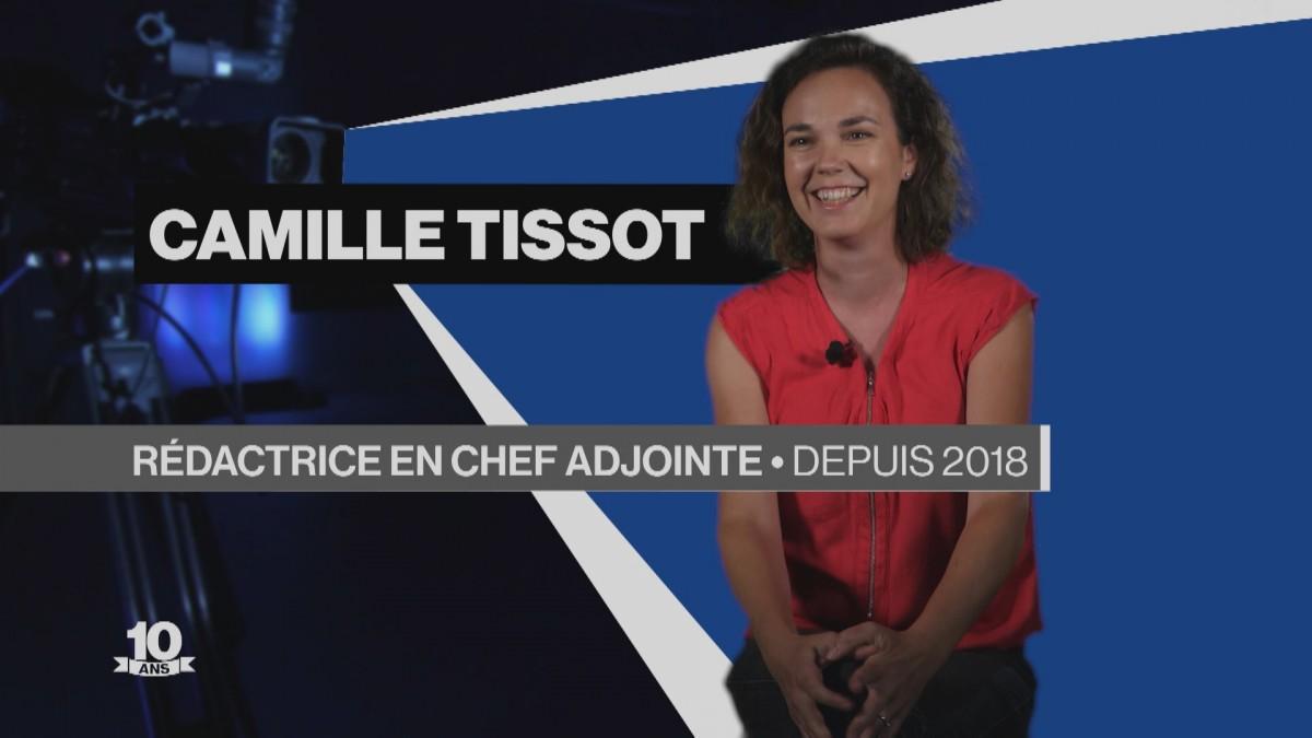 La Télé fête ses 10 ans avec Camille Tissot