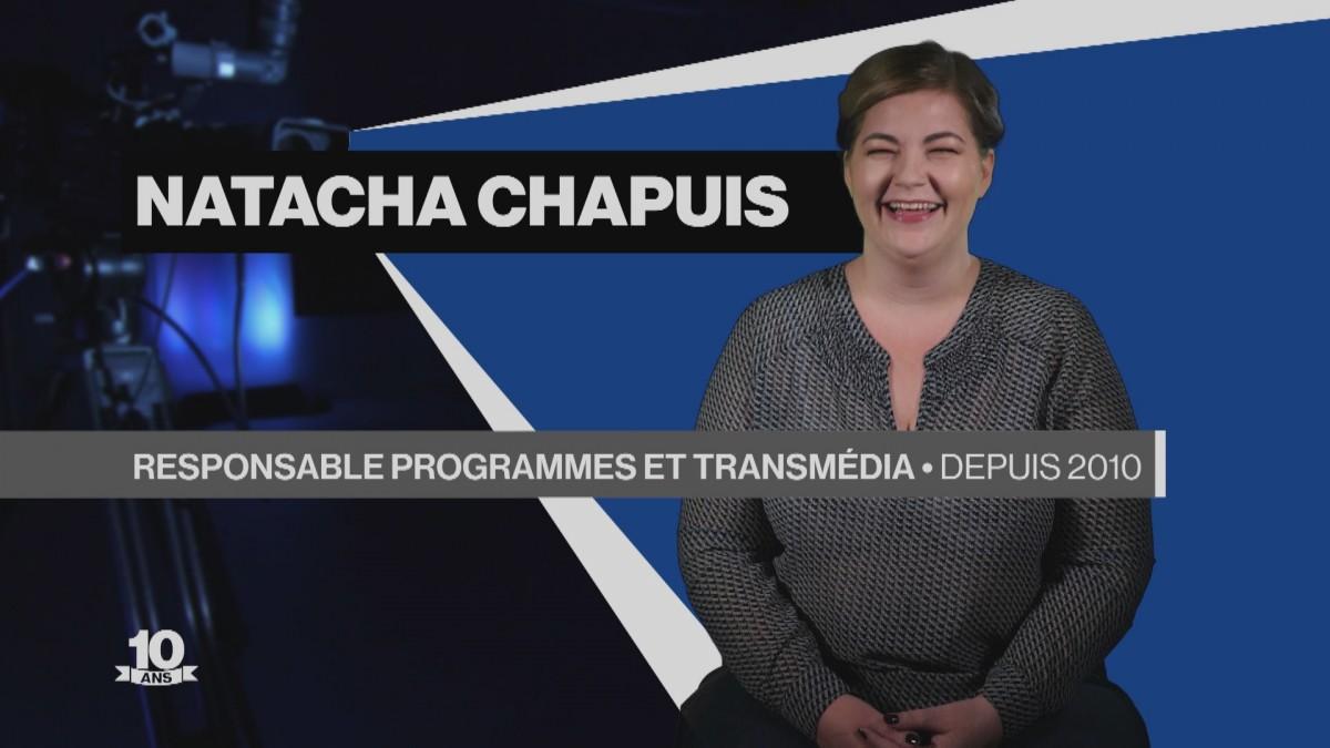 La Télé fête ses 10 ans avec Natacha Chapuis